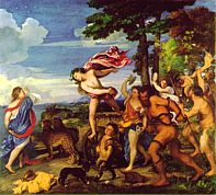 Bacchus and Ariadne by Titian, 1522-3, National Gallery, London